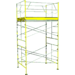 Rental store for 10  ROLLING SCAFFOLDING TOWER in Watsonville CA