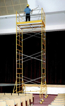 Rental store for 15  ROLLING SCAFFOLDING TOWER in Watsonville CA