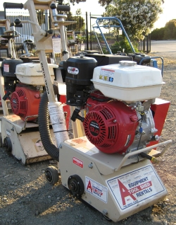 Rental store for GAS COMPACT CONCRETE PLANER in Watsonville CA