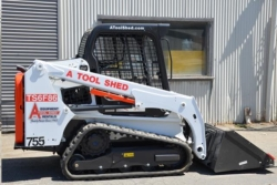 Rental store for 62  66  TRACK SKID STEER  LOADER TRACTOR in Watsonville CA