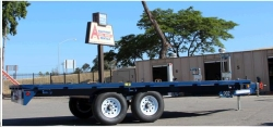 Rental store for 8  x18  DECK OVER TRAILER in Watsonville CA
