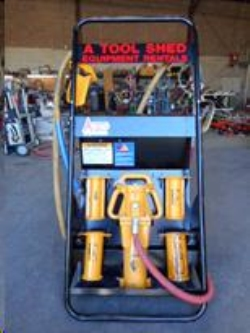 Rental store for HEAVY DUTY AIR POST DRIVER in Watsonville CA