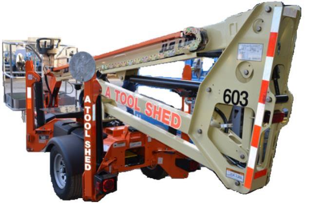 Where to find 35  TOWABLE PERSONNEL BOOM LIFT JLG in Watsonville