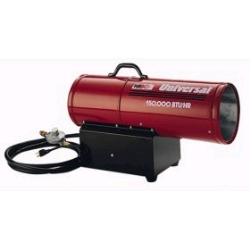 Rental store for 150,000 BTU FORCED AIR PROPANE HEATER in Watsonville CA