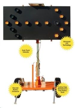 Rental store for SOLAR FLASHING ARROW BOARD, TOWABLE in Watsonville CA