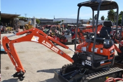 Rental store for 1 1 2 TON COMPACT EXCAVATOR in Watsonville CA