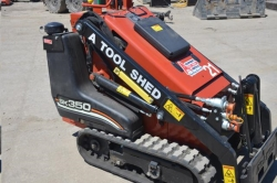 Rental store for 35  GAS MINI TRACK SKID STEER LOADER in Watsonville CA