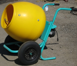 Used Equipment Sales 2 CU FT WHEEL BARROW CONCRETE MIXER in Watsonville CA