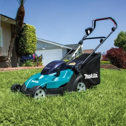 Rental store for 17  MAKITA CORDLESS LAWN MOWER in Watsonville CA